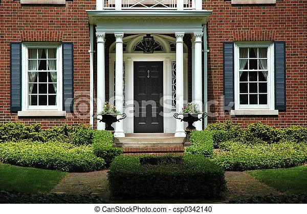 家, 入口, 形式的 - csp0342140