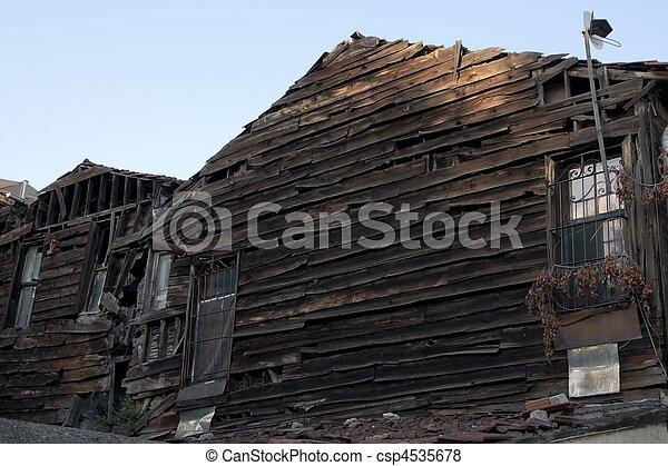 家, 台無しにされる - csp4535678