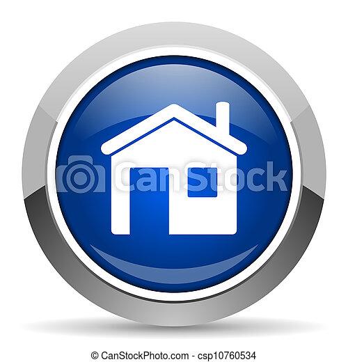 家, 图标 - csp10760534