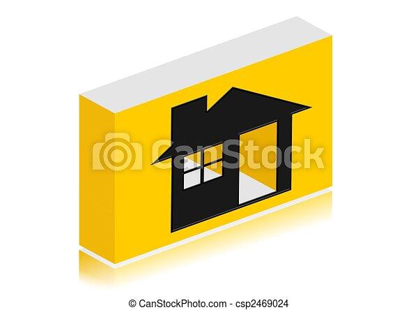 家, 圖象 - csp2469024