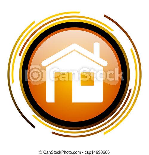 家, 圖象 - csp14630666