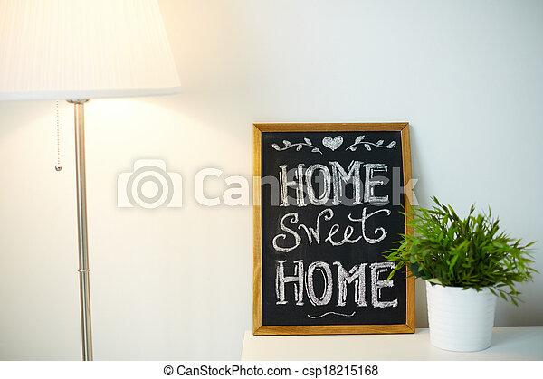家, 快適さ - csp18215168