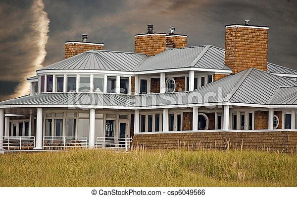 家, 浜 - csp6049566