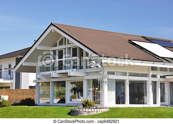 家, 現代 - csp6482921
