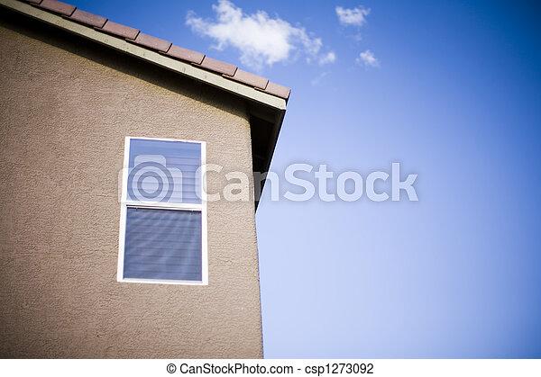 家, 窓 - csp1273092