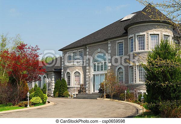 家, 経営者 - csp0659598