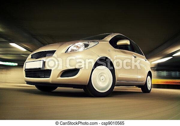 家, 自動車, 速い, 運転, 駐車 - csp9010565