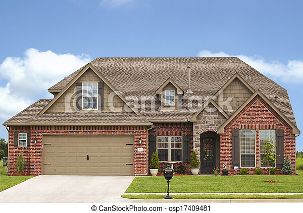 家, 豪華 - csp17409481