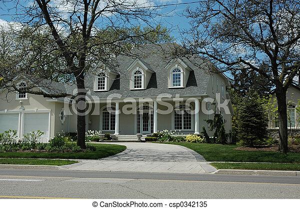 家, 贅沢 - csp0342135