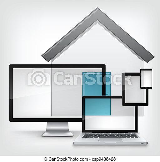 家, concept. - csp9438428