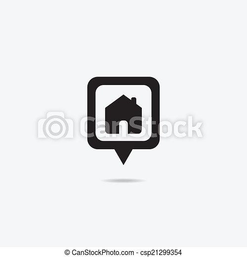 家, pointter - csp21299354