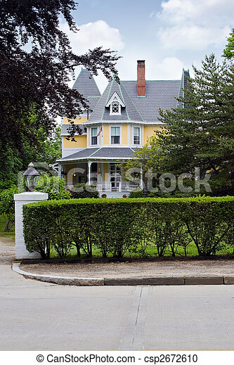 家, victorian 様式 - csp2672610