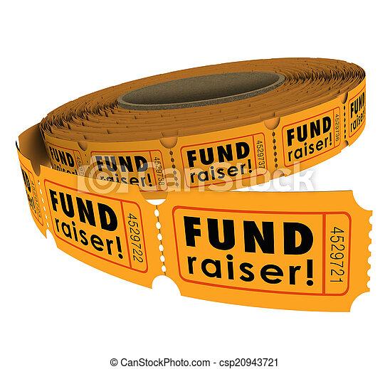 富くじ, 回転しなさい, 50, 50, fundraiser, mon, 切符, でき事, 上げること, 慈善 - csp20943721