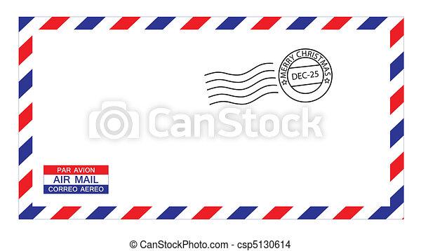 封筒 クリスマス エアメール クリスマス 所有するため 封筒 Stamp
