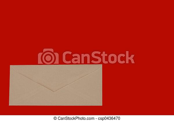 封筒 - csp0436470