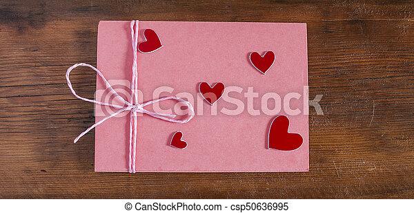 封筒, 赤 - csp50636995
