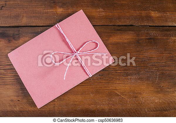 封筒, 赤 - csp50636983