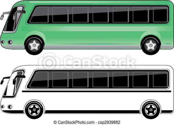 小型バス - csp2939882