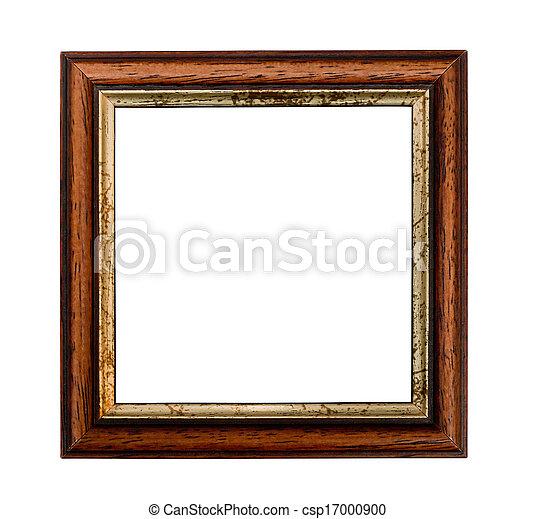 小, 畫框架, 廣場 - csp17000900