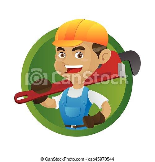 届く, 調節可能, handyman - csp45970544