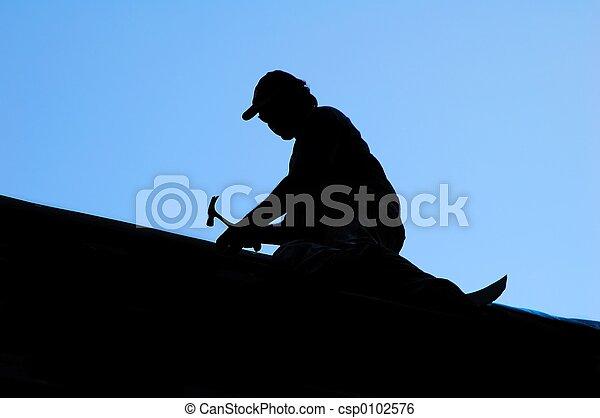 屋根職人 - csp0102576