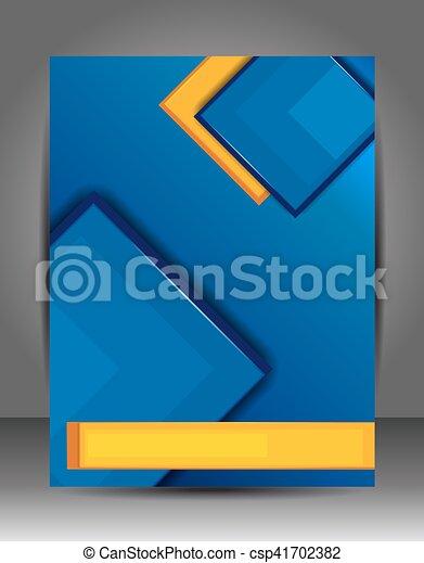 層, ビジネス, 抽象的, template., バックグラウンド。, フライヤ, パンフレット, ∥あるいは∥ - csp41702382