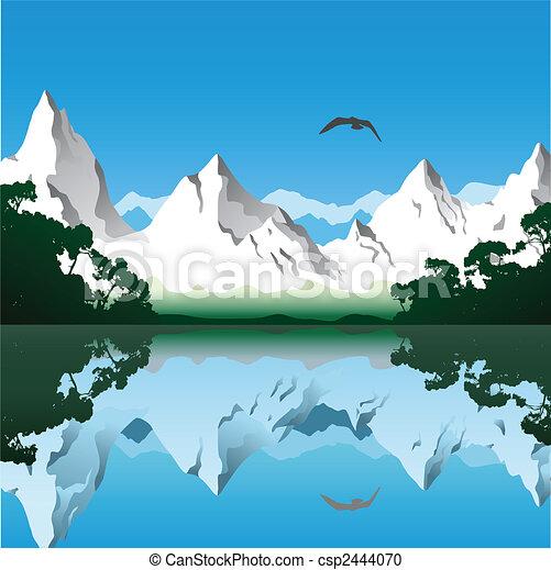 山の景色 - csp2444070