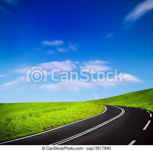 山の道 - csp13517840