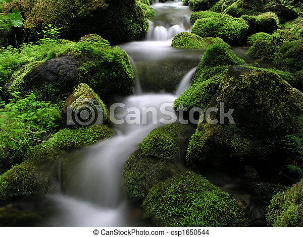 山の 流れ - csp1650544