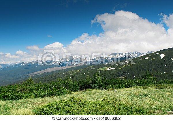 山地形 - csp18086382