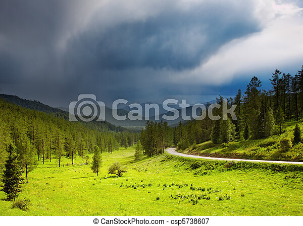 山地形 - csp5738607