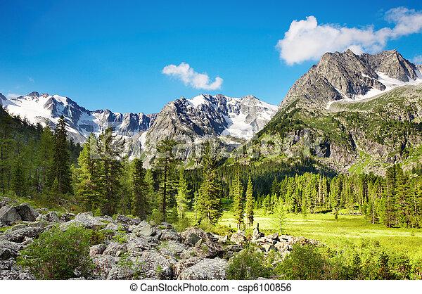 山地形 - csp6100856