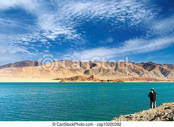 山湖, 釣り - csp10200392