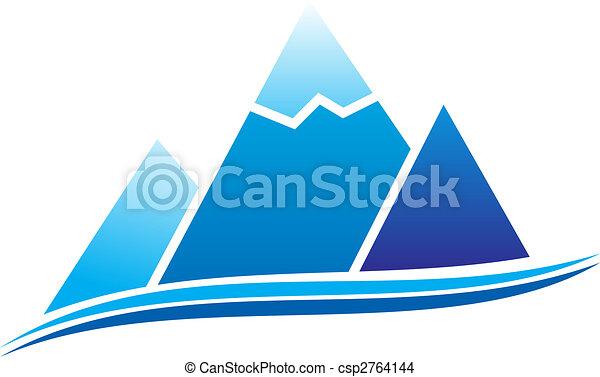 山, アイコン - csp2764144