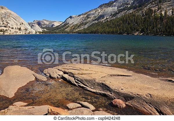山 パス, 湖, tioga - csp9424248