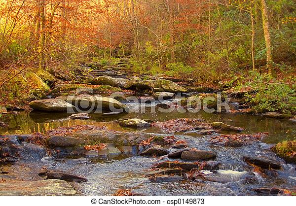 山 小河 - csp0149873
