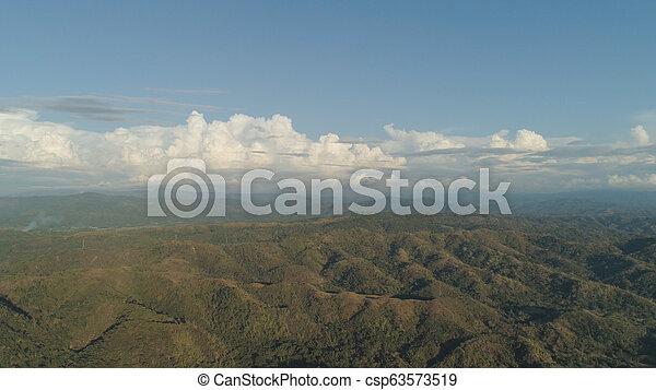 山, 島, luzon, 風景, フィリピン。 - csp63573519