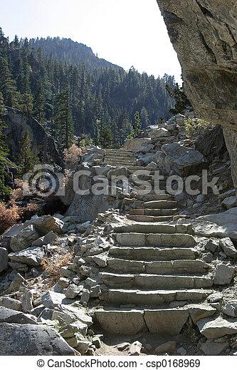 山, 步驟 - csp0168969