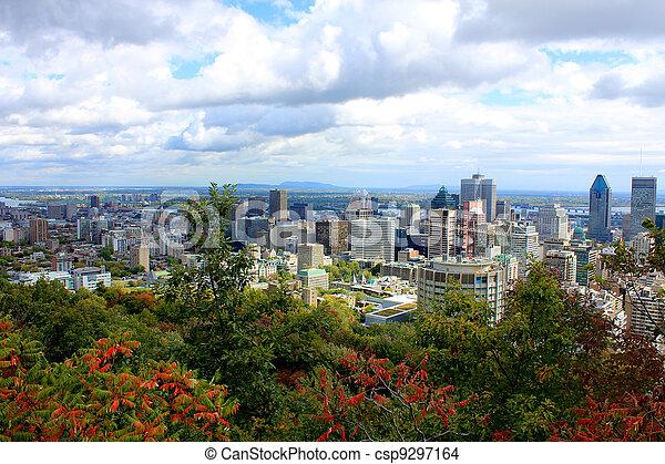 山, 皇族, モントリオール, 光景 - csp9297164