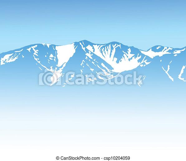 山, 背景 - csp10204059