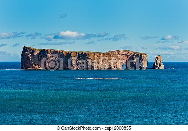 岩石, 著名, perce, 地方, gaspe - csp12000835