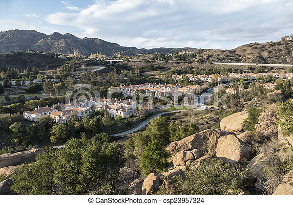 峡谷, アンジェルという名前の人たち, los, 暮らし - csp23957324