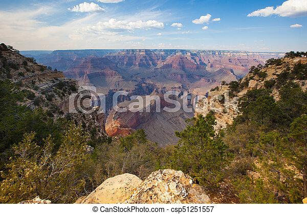 峡谷, 公園, 壮大 - csp51251557