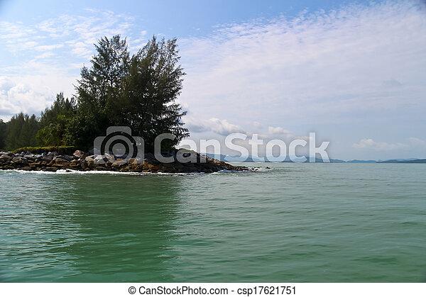 島, 作られた, 人 - csp17621751