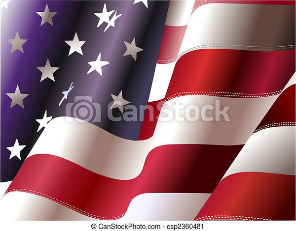 州, 合併した, –, ポスター, デザイナー, 独立, 第4, 日, america., 7月, グラフィック - csp2360481
