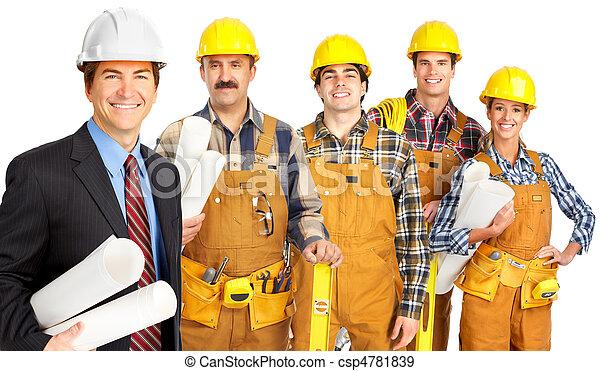 工人, 人們 - csp4781839