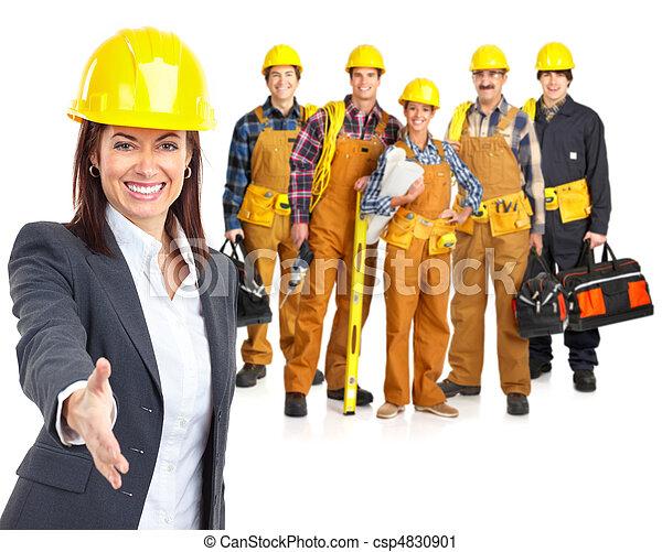 工人, 人們 - csp4830901