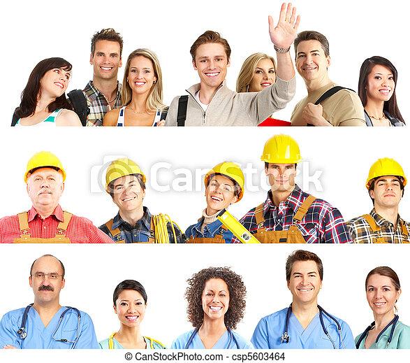 工人, 人們 - csp5603464