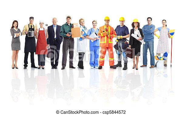 工人, 人們 - csp5844572