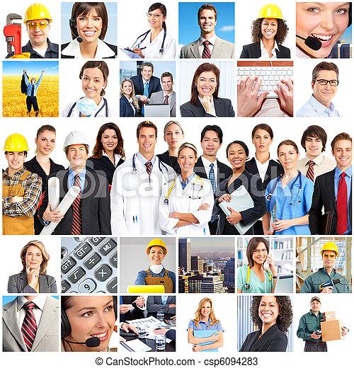 工人, 人們 - csp6094283